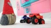 Машинки Вспыш и Крушила - Дед Мороз в холодильнике