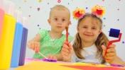 Развивающие игры с детьми. Рисование или печати - Детское творчество