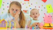 Видео для детей: свинка Пеппа и Ксюша Дети и родители