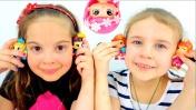 Видео для девочек - Куклы Пинипоны. Ксюша Дети и Родители