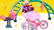 Песенки онлайн - Одеваем Беби Бон на улицу - Веселые песенки для детей