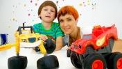 Маша Капуки Кануки: играем в Чудо машинки