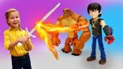 Супергерои: Бен 10 против Кевина. Мультики для мальчиков