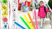 Видео для девочек - Игры для девочек: колготки - раскраска