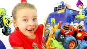Видео для детей: игрушки Вспыш и Чудо машинки