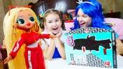 Видео про куклы. Распаковка набора ОМГ ЛОЛ. Мы Принцессы!