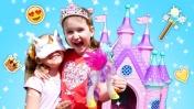 Принцесса научилась летать. Видео для детей: Мы - Принцессы.