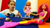 Видео для девочек - Секрет Барби раскрыт: Барби русалка