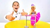 Одевалки Барби: Челси - балерина. Видео для детей