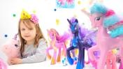Видео для девочек - Май Литл Пони. Мультики с игрушками
