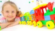 Конструктор Lego Duplo Поезд. Лего игры для детей