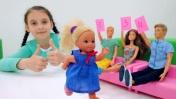 Штеффи и Челси: танцевальный конкурс. Видео для детей.