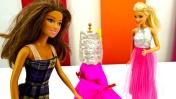 Видео для девочек - Шьем платье для Барби.