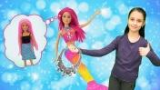 Куклы Барби: подарок на день рождения - Видео для девочек.