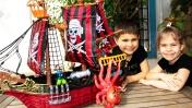 Игры для детей: Сокровища пиратов