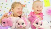 Видео для девочек - Щенки и котята. Ксюша Дети и Родители