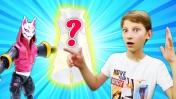 Герои Фортнайт и королевская битва. Видео с игрушками для детей.