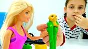 Видео для девочек - Мультик Барби. Подарок на День рождения