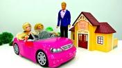 Видео для девочек - Барби и Кен идут в театр. Игры Одевалки
