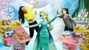 Игра Снежная катапульта с куклой Эльзой Холодное сердце