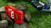 Машинки из мультика Тачки - Гонки Молния Маквин vs Шторм