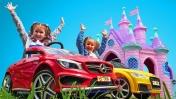 """Машинки для принцесс. Веселые игры для детей: шоу """"Мы - принцессы"""""""