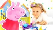 Дом Свинки Пеппы. Игрушки для детей