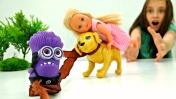 Видео для девочек - Где Штеффи дочка Барби? Мультики для детей