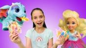 Куклы Барби: Челси и волшебное мороженое. Видео для девочек.