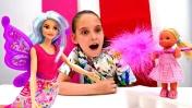 Мультик Барби: Штеффи и фея. Игры для девочек про волшебство