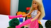 Видео для девочек - Барби и волшебные сапоги.