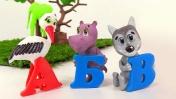 Развивающее видео с Симкой: учим алфавит