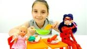 Леди Баг в гостях у Штеффи. Куклы и Мультики для девочек