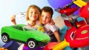 Город игрушек и игрушечные машинки. Игры для детей