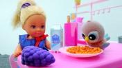 Куколка Штеффи и тайна попугайчика! Видео для девочек с Барби.