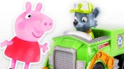 Свинка Пеппа и Щенячий патруль. Видео для детей