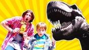 Динозавры и Парк Аттракционов Сказка - Отдых в Москве - Куда сходить