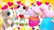 Учим животных: Развивающие мультики - Животные и их детеныши. Видео для детей