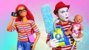 Смешное видео про Беби Бон - Уборка дома. Видео для девочек Как мама