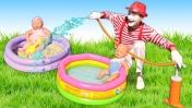 Беби Бон в песочнице и бассейне - Смешные видео - Мультики для девочек Как мама