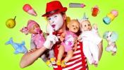 Няня для Беби Бон. Мультики для детей - Играем в куклы Беби Борн Как Мама