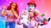 Кукла Барби и смешное видео про Беби Бон. Видео для девочек. Играем как мама