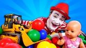 Беби Бон играет в прятки в бассейне с шариками! Развивающие мультики Как мама