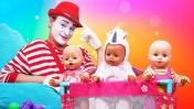 Папа для Беби Бон - Развлечения для детей. Беби Бон Как мама