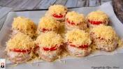 "Куриные Котлетки ""Под шубкой"" | Chicken Meat Rissoles"