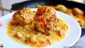 Очень ПРОСТЫЕ и ОБАЛДЕННО ВКУСНЫЕ Тефтели в грибном соусе | Meatballs Recipe