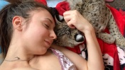 РЫСЬ МОЖЕТ БЫТЬ ЛАСКОВОЙ / Пуссикэт нашел себе друга