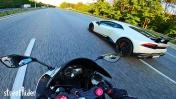 ЗАРУБА #2 | Lamborghini Huracan vs Kawasaki Ninja 636 ZX6R
