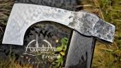 Самодельный ТОПОР ковка, стабилизация древесины, карбоновая рукоять DIY Часть 2