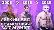 🐵 ИСТОРИЯ ЛЕГКОГО ВЕСА ЮФС | Все Чемпионы До 70 кг